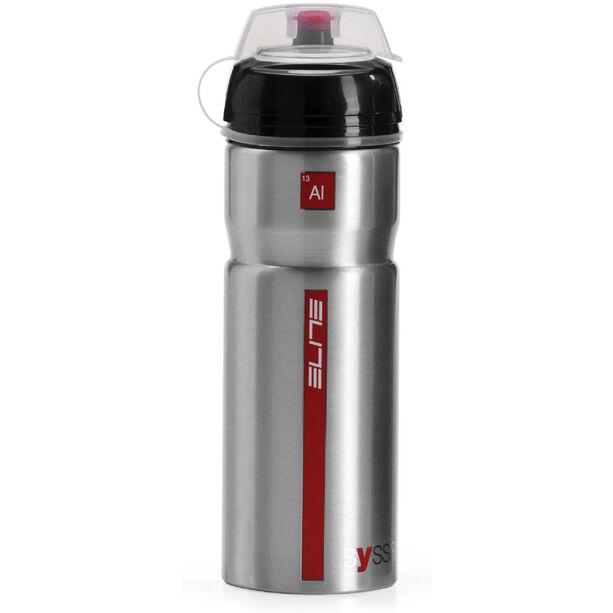 Elite Syssa Trinkflasche 750ml silber glänzend