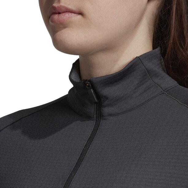 adidas TERREX Xperior Langarm T-Shirt Damen carbon/dark grey heather