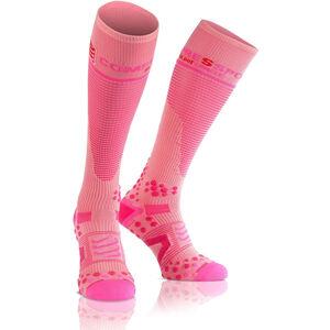 Compressport Full Socks V2.1 pink pink