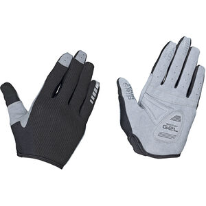 GripGrab Shark Padded Full Finger Gloves Damen black black