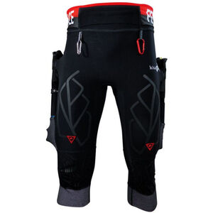 KiWAMi Equilibrium Trail 3/4 Pants black/red black/red