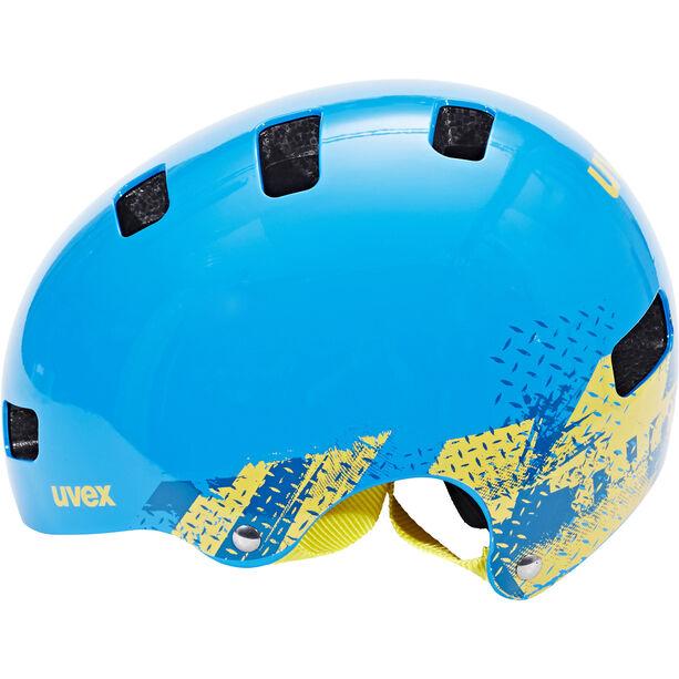 UVEX Kid 3 Helmet Kinder blackout blue