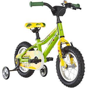 Ghost Powerkid AL 12 riot green/cane yellow/riot red bei fahrrad.de Online