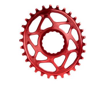 absoluteBLACK Ovales Kettenblatt Spiderless Boost148 für Race Face Cinch red red
