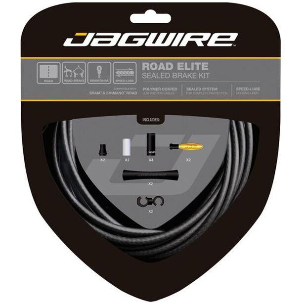 Jagwire Road Elite Sealed Bremszugset stealth black