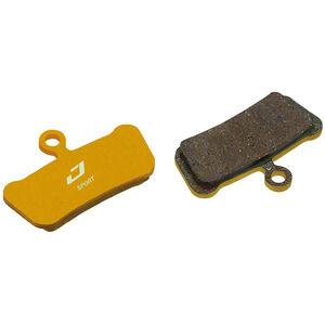 Jagwire Pro Semi-Metallic Bremsbeläge für Avid Trail | SRAM Guide Ultimate/RSC/RS 1 Paar gold