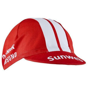 Craft Team Sunweb Bike Cap sunweb red sunweb red