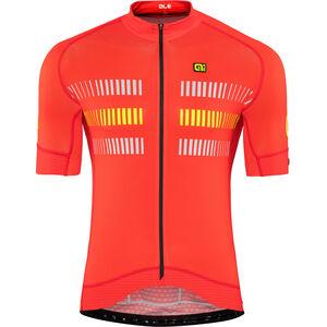 Alé Cycling Graphics PRR Strada Shortsleeve Jersey Herren flou yellow flou yellow