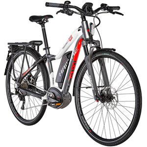 HAIBIKE XDURO Trekking S 9.0 Damen Titan/Weiß/Rot bei fahrrad.de Online