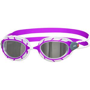Zoggs Predator Mirror Goggles Kinder purple/white/mirror purple/white/mirror