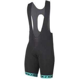 Etxeondo Orhi 19 Bib Shorts Herren black-turquoise black-turquoise