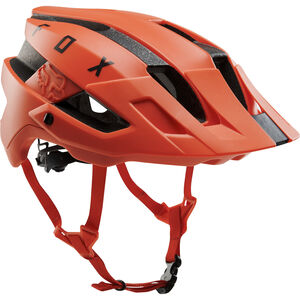 Fox Flux Solid Helm orange crush orange crush
