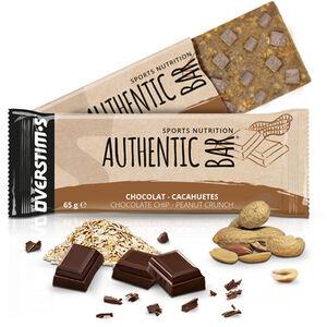OVERSTIM.s Authentic Riegel Box 6x65g Chocolate Peanuts