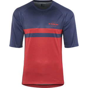 Bontrager Rhythm Tech Tee Herren navy/dark red navy/dark red
