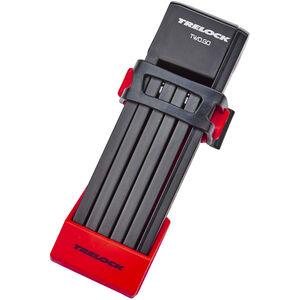 Trelock FS 200/75 TWO.GO Faltschloss 75 cm rot rot
