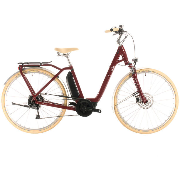 Cube Ella Ride Hybrid 500 Easy Entry red/white