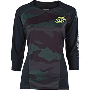 Troy Lee Designs Ruckus 3/4 Jersey Damen camo/black/green camo/black/green