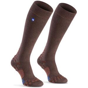 Compressport Care Socks brown brown