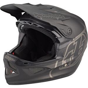 Troy Lee Designs D3 Fiberlite Mono Helmet black black