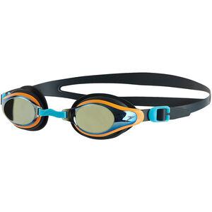 speedo Mariner Supreme Mirror Goggles Kinder oxid grey/jaffa/titanium oxid grey/jaffa/titanium