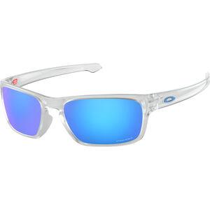 Oakley Sliver Stealth Sunglasses matte clear/prizm sapphire