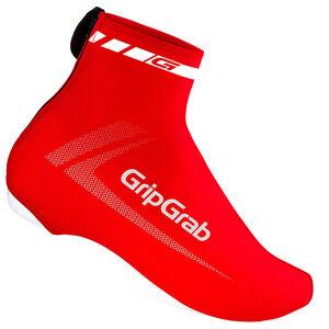 GripGrab RaceAero Lightweight Lycra Shoe Cover red