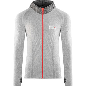 Compressport 3D Thermo Seamless Hoodie Unisex Grey bei fahrrad.de Online