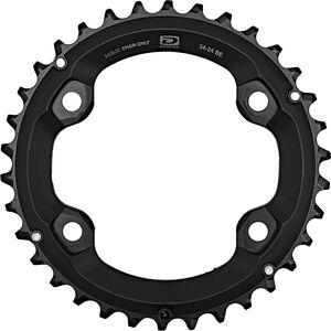 Shimano Deore FC-M6000-2 Kettenblatt 10-fach BE schwarz schwarz