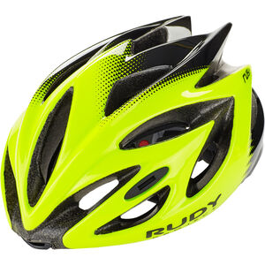 Rudy Project Rush Helmet yellow fluo/black shiny yellow fluo/black shiny