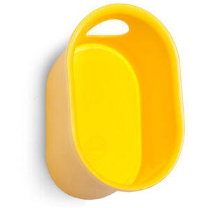 Cycloc Loop Helm- und Accessoiresablage yellow yellow