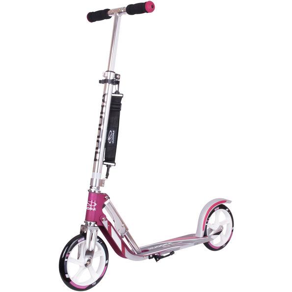 HUDORA Big Wheel City Roller magenta/silver