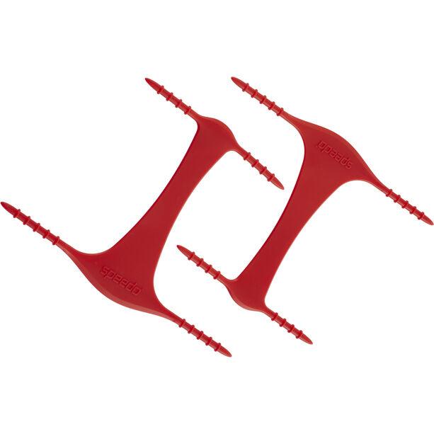 speedo Biofuse Power Paddles red/grey