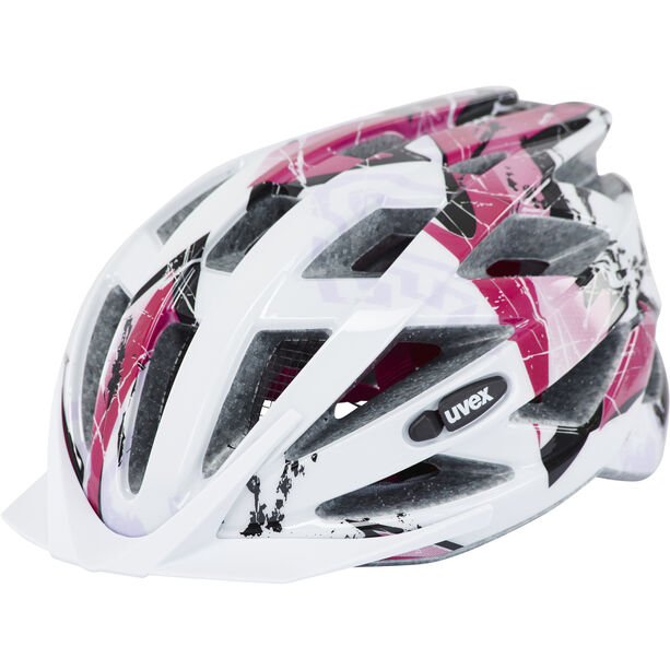 UVEX Air Wing Helmet Kinder white/pink