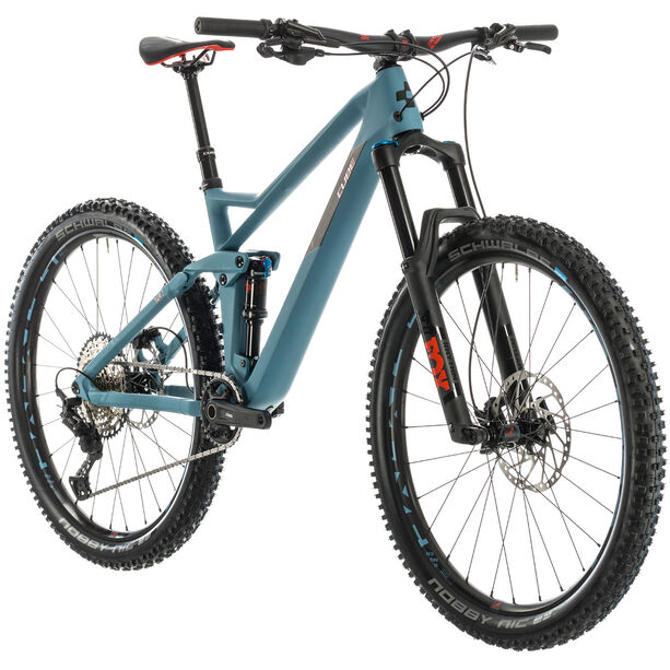 Cube Stereo 140 HPC Race blue grey/red