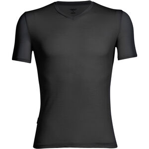 Icebreaker Anatomica SS V-Neck Shirt Men black/monsoon bei fahrrad.de Online