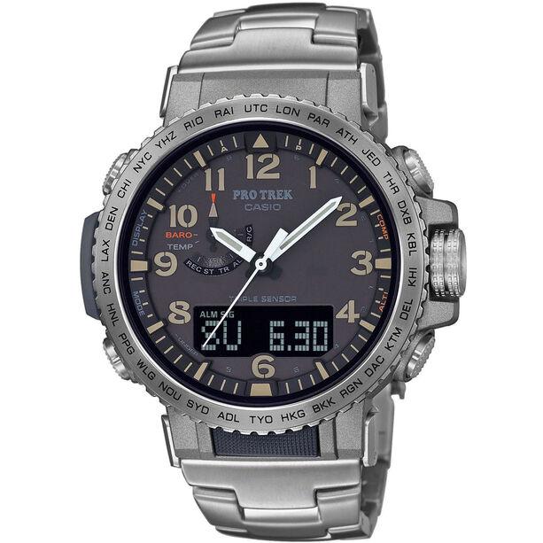 CASIO PRO TREK PRW-50T-7AER Watch Men silver/anthracite