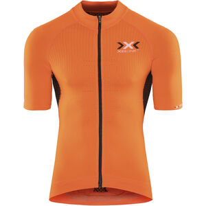 X-Bionic The Trick Fahrrad Trikot SS Full-Zip Herren orange sunshine/black orange sunshine/black