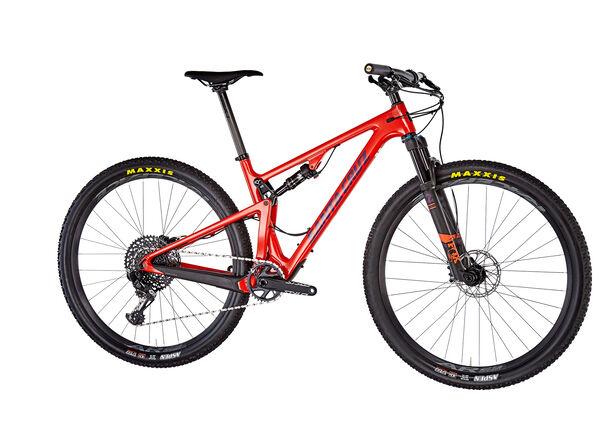 Santa Cruz Blur 3 C S-Kit red red