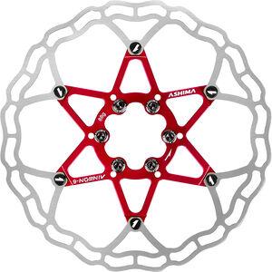 ASHIMA ARO-10 AiNeon Bremsscheibe 6-Loch red red