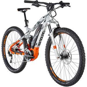 HAIBIKE SDURO FullNine 8.0 Silber/Orange/Olive matt bei fahrrad.de Online