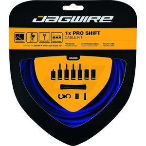 Jagwire 1X Pro Shift Schaltzugset blau blau