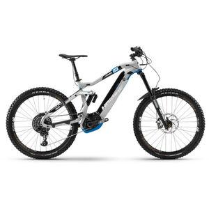 HAIBIKE XDURO NDURO Tschugg 23 Cool Grey/Schwarz/Platinum Blue bei fahrrad.de Online