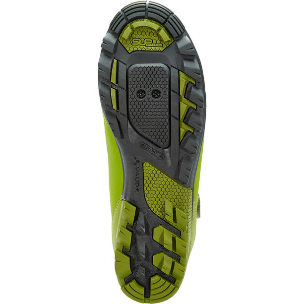 VAUDE AM Downieville Mid Shoes holly green/green pepper