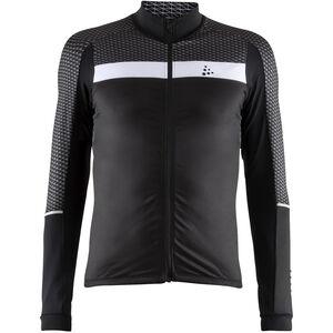 Craft Route LS Jersey Herren black/white black/white