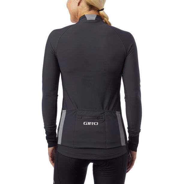 Giro Chrono LS Thermal Jersey Damen charcoal