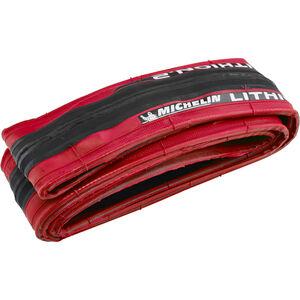 "Michelin Lithion2 Reifen 28"" faltbar rot rot"