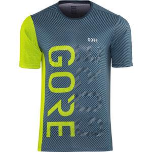 GORE WEAR M Brand Shirt Herren deep water blue/citrus green deep water blue/citrus green