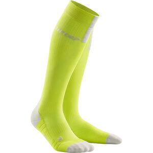 cep Run Socks 3.0 Herren lime/light grey lime/light grey