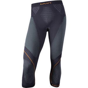 UYN Evolutyon UW Medium Pants Herren charcoal/green/orange shiny charcoal/green/orange shiny