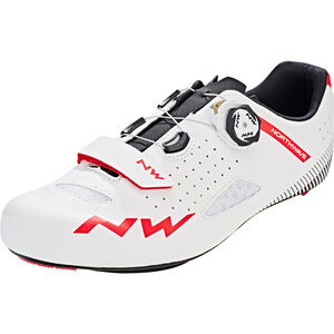 Northwave Core Plus Shoes Herren white/red white/red